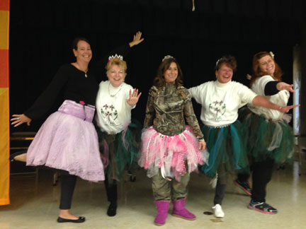 "The staff at OB Gates Elementary get into the spirit of ""Pay to Play"""