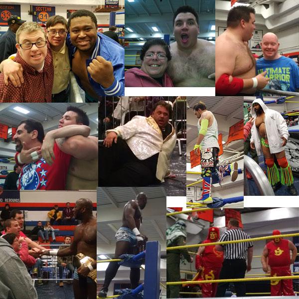 Wrestling-Colage